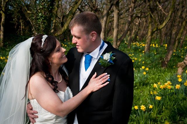Sneak Peek – Jenny and Graham's Springtime Wedding Leasowe Castle
