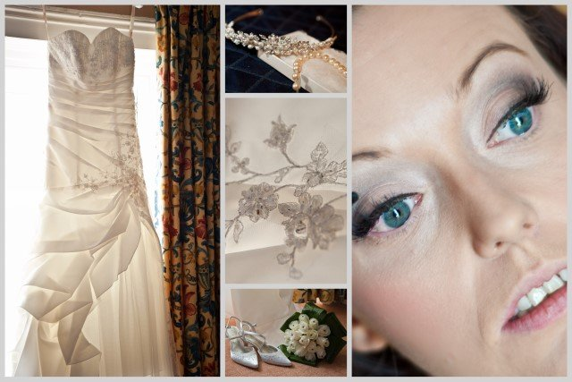 bridal prep Leasowe Castle wedding photography