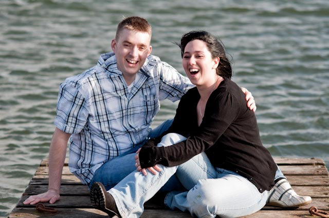 Pre Wed Shoot West Kirby Matt and Sue