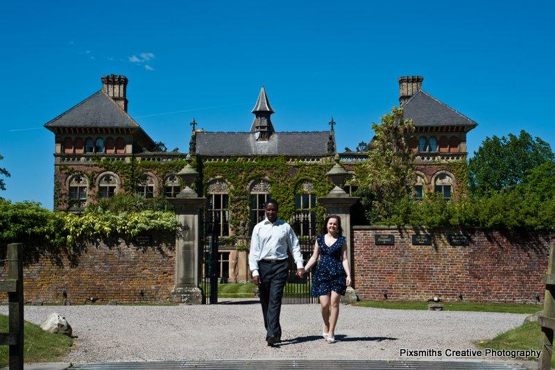 Lesley and Stephen – Pre-Wed, Flint, Soughton Hall