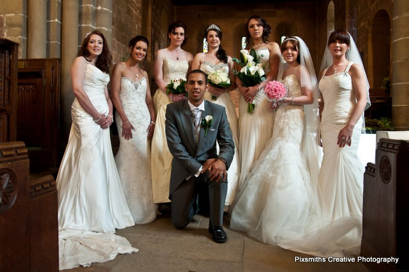 UKWP Leeds Bridal Shoot – Models and Dresses Galore