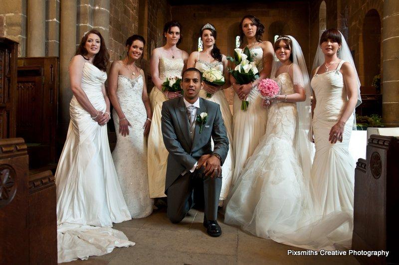 UKWP Leeds Bridal Shoot – Models and Dresses Galore