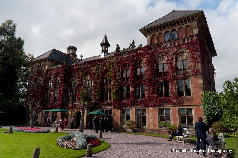 N Wales Wedding: Soughton Hall