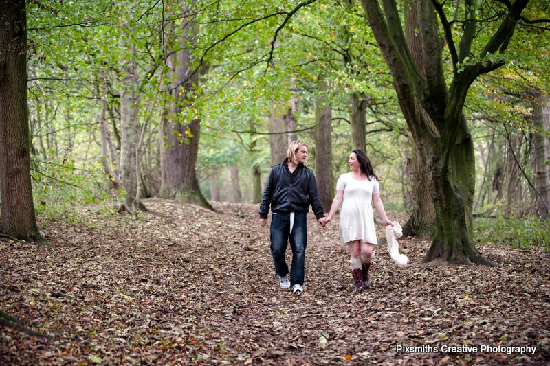 Amy and Ian Pre Wed Session