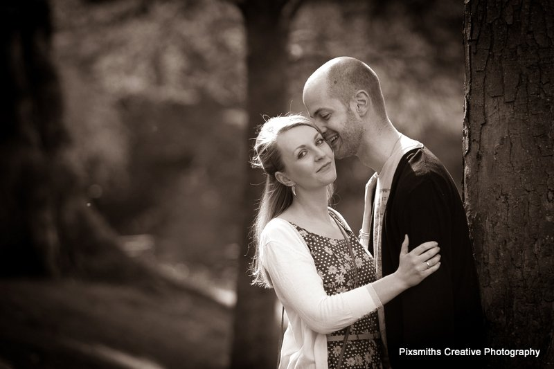 Selina and Martin Pre Wed Ashton Park, West Kirby