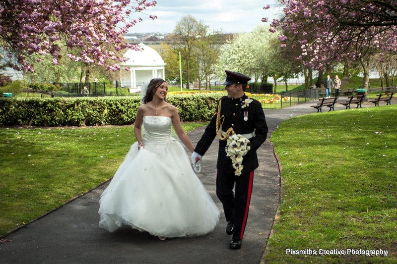 Rachel and Gareth Wirral Wedding Floral Pavillion