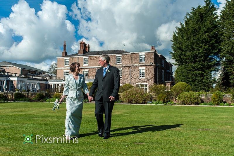 Jennifer and Bill Spring Wedding Rowton Hall Hotel