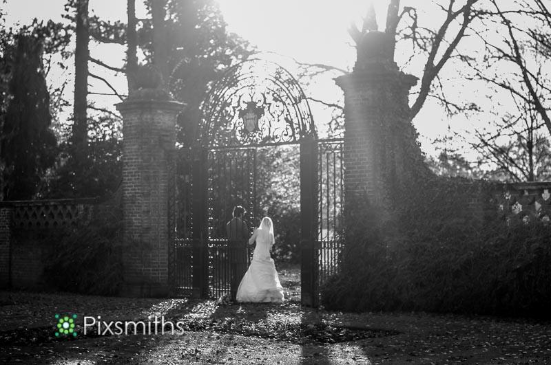 Inglewood Manor wedding portrait