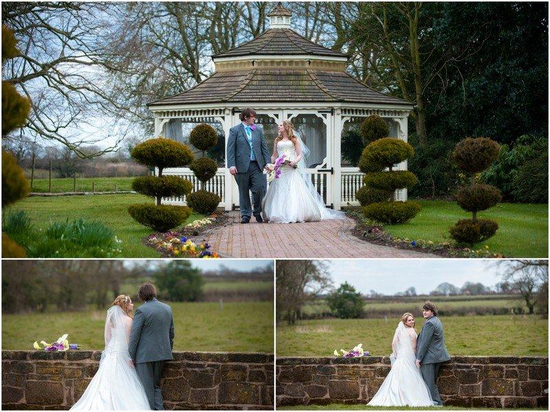 Thornton Hall wedding photographer - bridal portraits