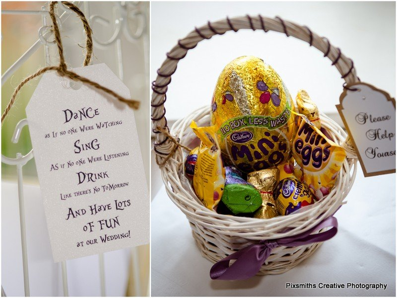 easter wedding details