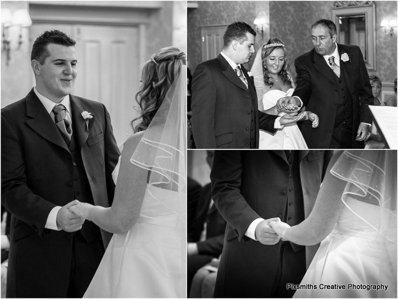 wedding ceremony Rowton Hall