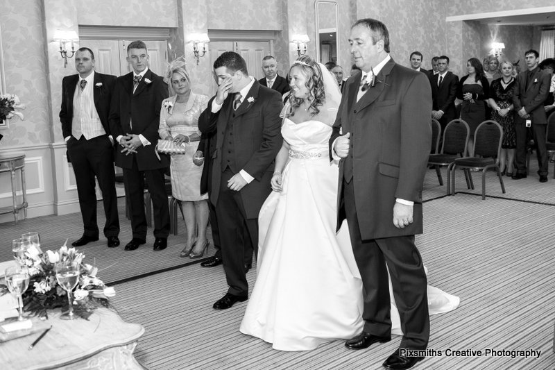 Rowton Hall wedding ceremony
