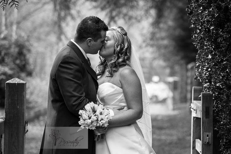 Rowton Hall Bride and Groom