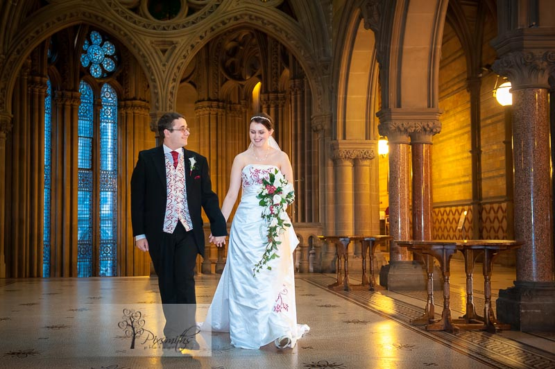 Manchester Town Hall Wedding Photographer: Sally and Shaun