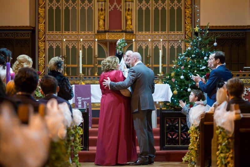 Christmas Wirral wedding