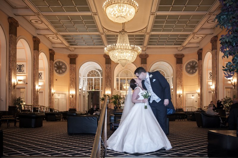 Adelphi Hotel Wedding Photographer: Kyle and Victoria