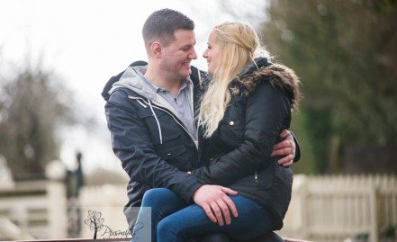 Anna and Simon Engagement Shoot – Hadlow Road