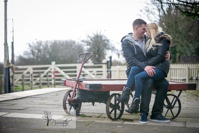 engagement shoot Hadlow Road