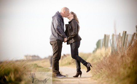 Engagement Shoot West Kirby: Dawn and Ian