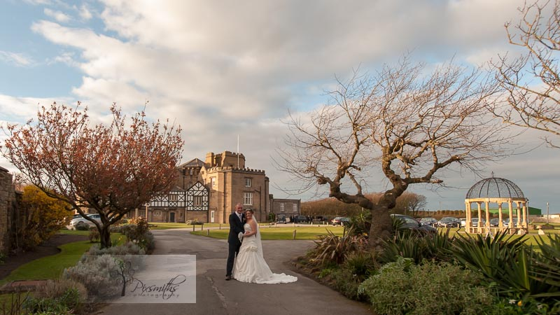 Leasowe Castle Twilight Wedding: Dawn and Ian