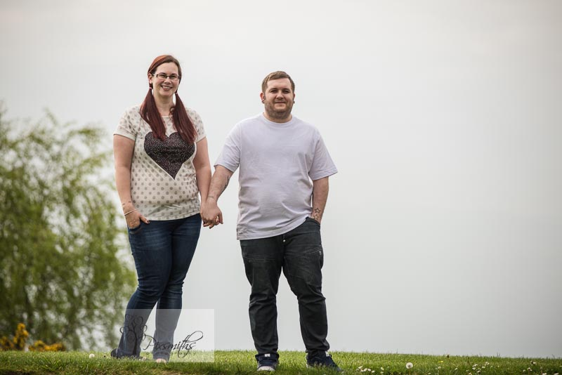 Pre Wed shoot Halton Castle: Claire and Chris