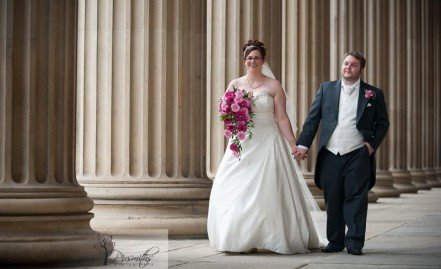 Liner Hotel Wedding: Claire and Chris