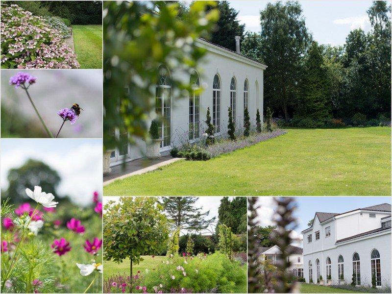 Rowton Hall Hotel gardens