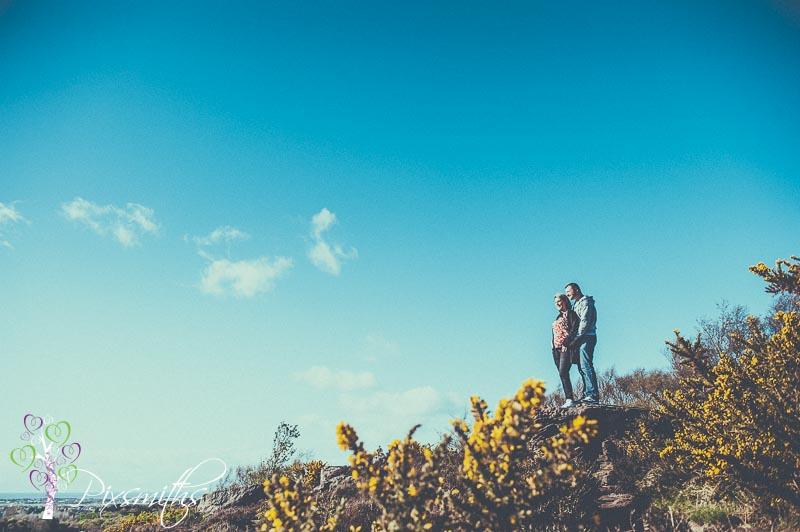 Thurstaston Pre Wedding Shoot: Lucy and Jay