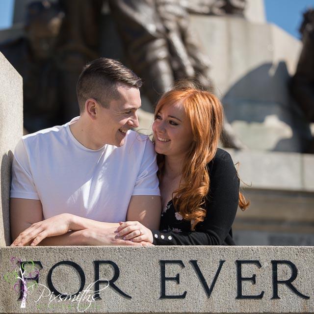 Portsunlight Engagement shoot: Lauren and Craig