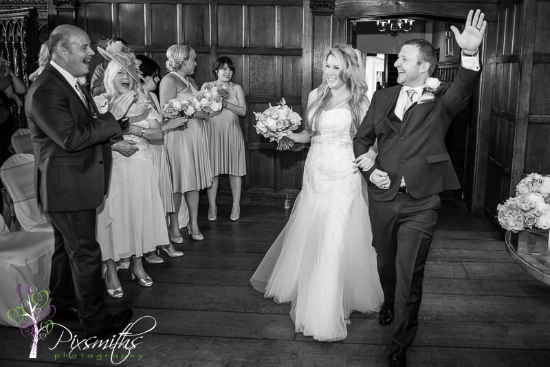 Hillbark wedding Photography just married happiness