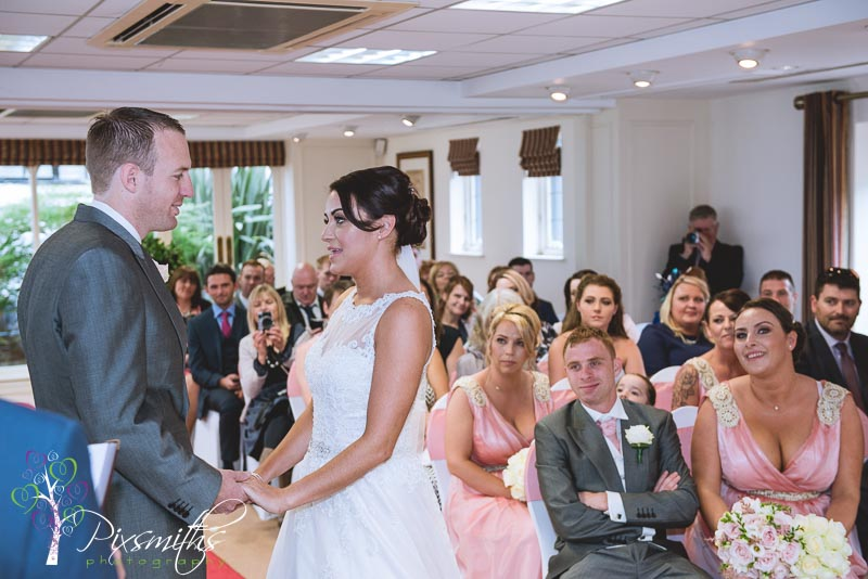 Inglewood Manor wedding ceremony