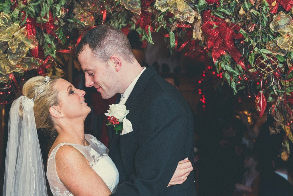 Festive Christmas wedding Plas Hafod