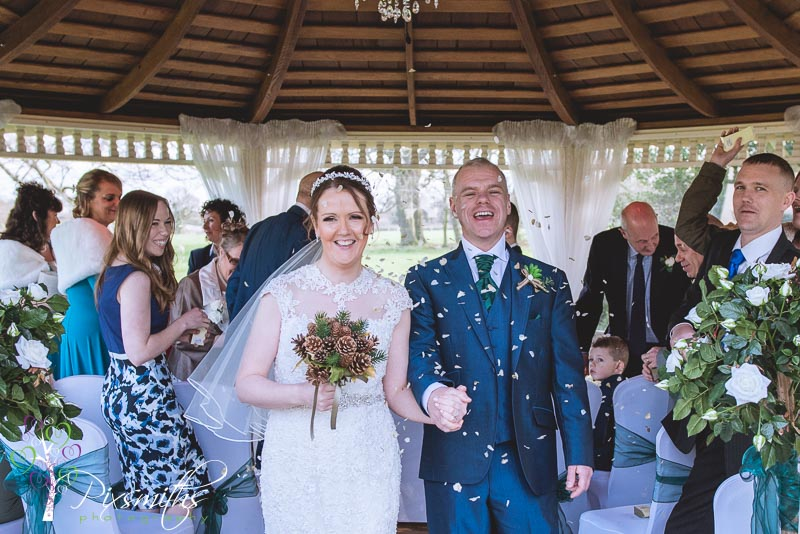 Valentine's Day Wedding Thornton Hall Hotel: Lisa and Kevin