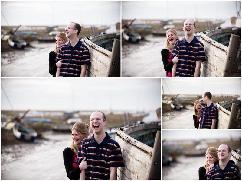 sheldrakes boat yard engagement shoot