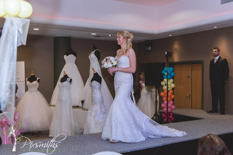 Elegance Bridal Birthday bash catwalk