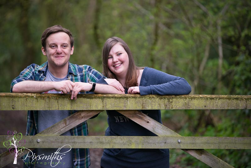 Brotherton Park engagement shoot