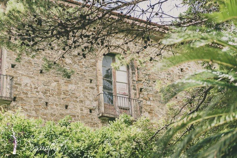 window in Belmonte Palazzo