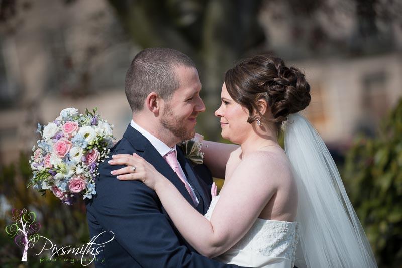 Boutique 4748 Hamilton Square Wedding Photographer: Kristie and Chris