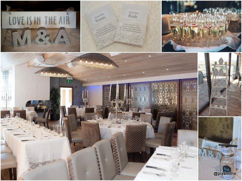 Sheldrakes wedding reception details