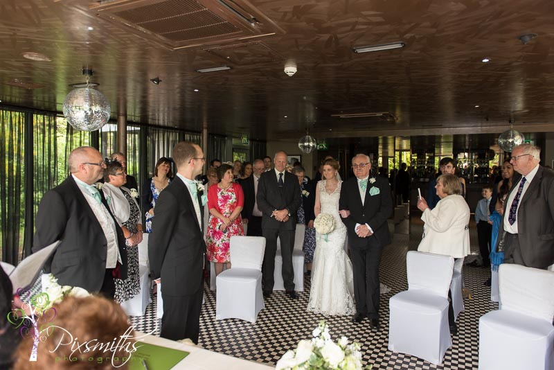 Marco's New York Italian Hoylake weddign ceremony
