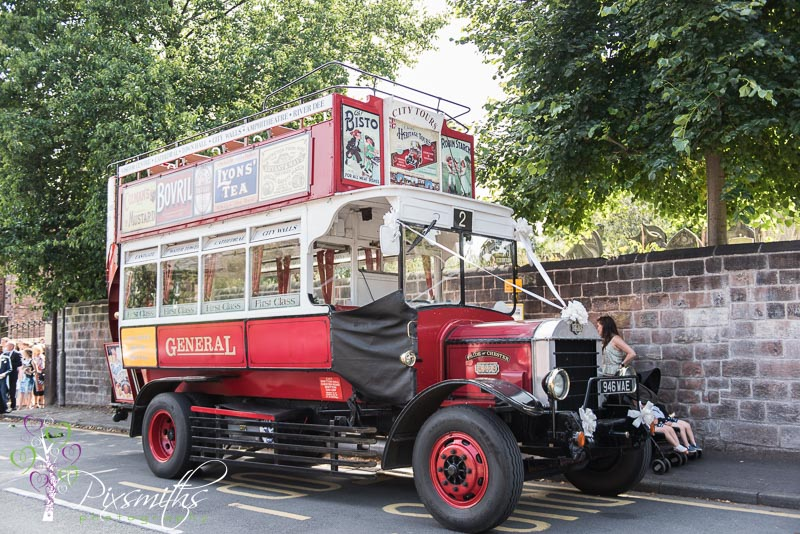 Chester Vintage bus
