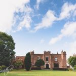Crabwall Manor Wedding photography exterior view of Manor