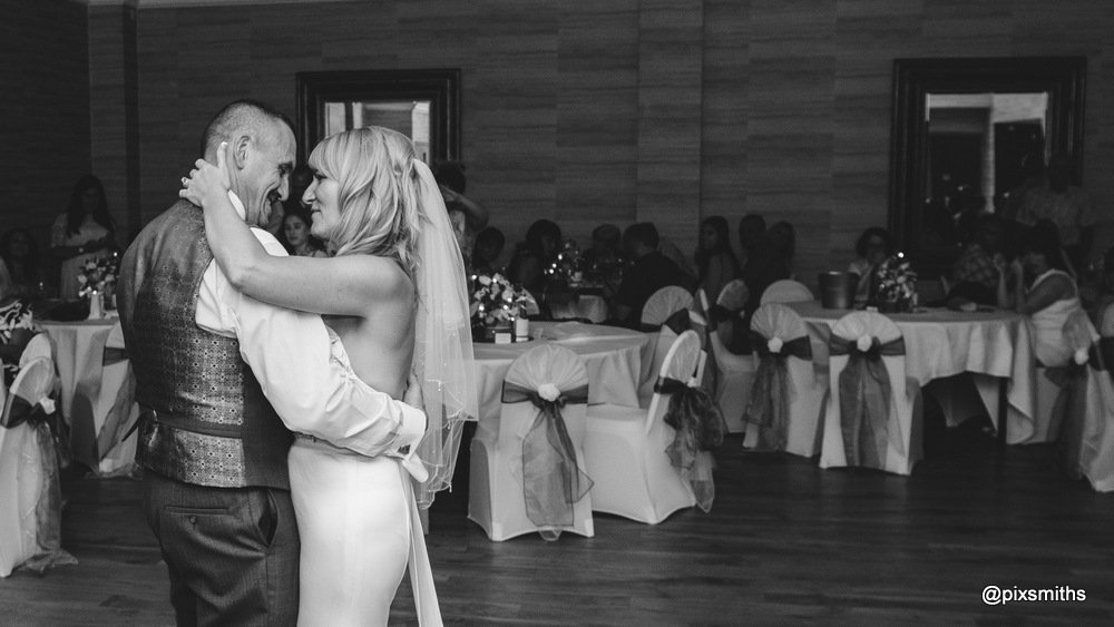 first dance Brook Hall wedding
