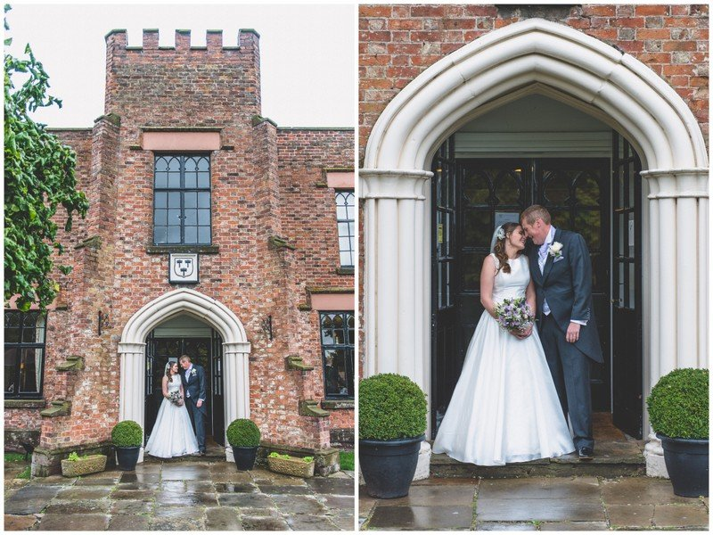 Crabwall Manor wedding photography bridal portrait