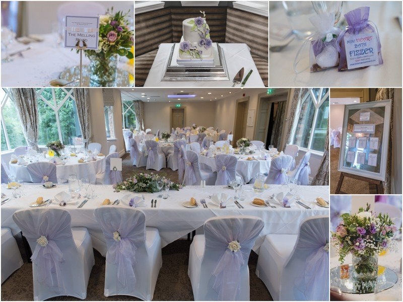 Crabwall Manor reception details