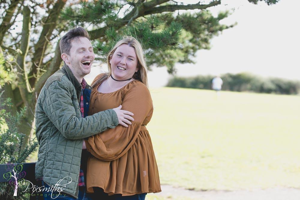 Jenny and Paul: Pre-wedding shoot Thursaston