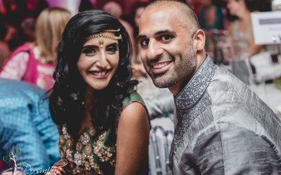 Sanaya and Satal's Pre Asian Wedding Party Thornton Hall