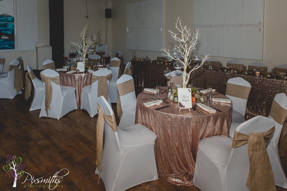 venue dressing 4748hamilton Square wedding Sapphire Bespoke events