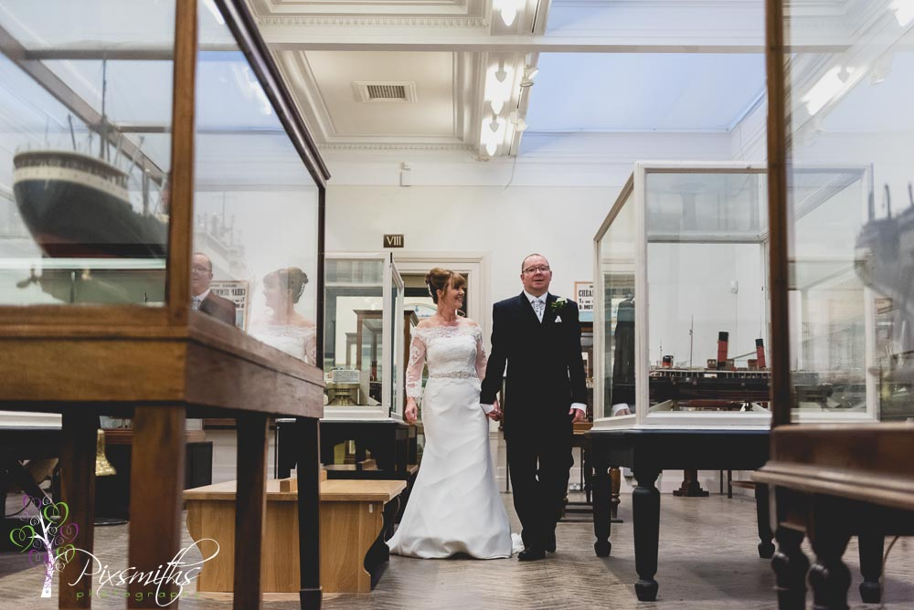 First Williamson Art Gallery Wedding: Pam & Paul