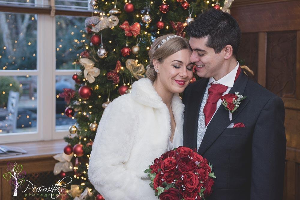 Christmas Wedding Rowton Hall: Rebecca & Mark